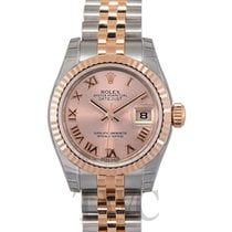 Rolex Lady Datejust Pink 18k Pink Gold 26mm Roman Jubilee -...
