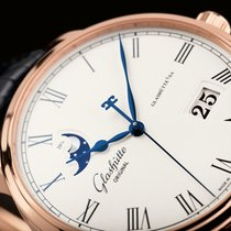 Glashütte Original Senator Panoramadate Moonphase 18kt Rose Gold