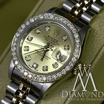 Rolex Two Tone - Ladies Rolex Oyster Perpetual 69173 Automatic...