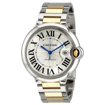 Cartier W2BB0022 Ballon Bleu in Steel and Yellow Gold - on...