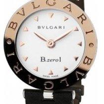 Bulgari 101425 B Zero1Ladies 30mm Quartz in Steel - On Black...