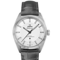 Omega Constellation Globemaster Leather Strap Mens Watch...