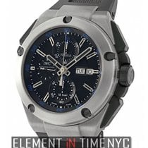 IWC Ingenieur Collection Double Chronograph Titanium 45mm On...