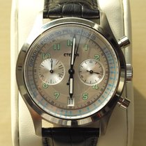 Eterna . Heritage Pulsometer Chronograph Limited Edition 1942 ...