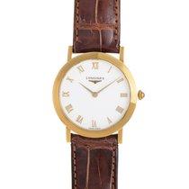 Longines Mens Yellow Gold Quartz Watch L7.991.6.21.1