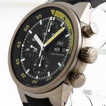 IWC Aquatimer Chronograph Automatic Titan an Kautschuband Ref....