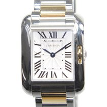 Cartier Tank Stainless Steel Silver Quartz W5310046
