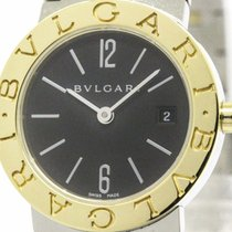 Bulgari Polished  - 18k Gold Steel Ladies Watch Bb26sg (bf101145)