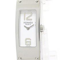 Hermès Polished Hermes Kelly Ll Double Tour Steel Quartz...
