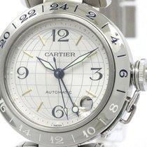 Cartier Polished Cartier Pasha Meridian Steel Automatic Unisex...