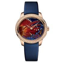 Ulysse Nardin Jade Lion Fish Diamonds Ladies watch