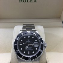 Rolex Submariner Stainless Steel Black Dial 16610