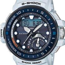 Casio G-shock Gulfmaster White Rubber Strap Gwn-q1000-7aer