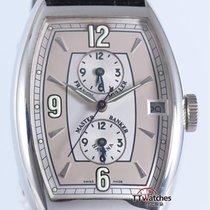 Franck Muller Master Banker Havana 5850 Mb Hv 18k White Gold