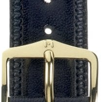 Hirsch Uhrenarmband Leder Ascot schwarz 01575050-1-20 20mm