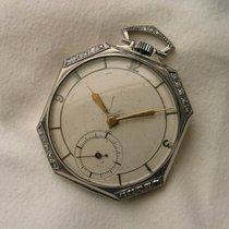 Longines Platinum with 23 Diamonds Art Deco