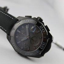"""TAG Heuer AQUARACER 300M Calibre 16 Chronograph """"Black Phantom..."""