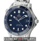 Omega Seamaster Diver 300 M Co-Axial 41mm Steel Blue Dial Ref....