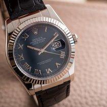 Rolex DateJust 18k White Gold Vintage Watch
