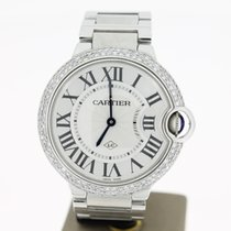 Cartier Ballon Bleu 36mm steel (B&P2013) Aftersetting...