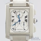 Cartier Tank Francaise Chrono Reflex 28mm Stainless Steel...