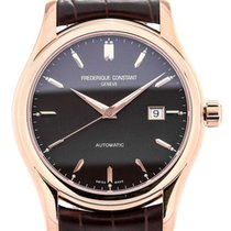 Frederique Constant Classics Index 43 Brown Dial Rosé PVD