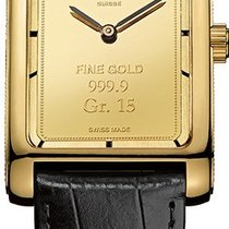 Corum Heritage Artisans Vintage Ingot XL in yellow Gold 15 grams