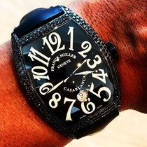 Franck Muller Casablanca 8880 C DT NR Custom black diamond set