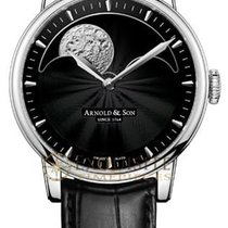 Arnold & Son HM Perpetual Moon Stainless Steel 1GLAS.B01A....