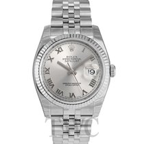 Rolex Datejust Steel Silver/Steel Ø36mm - 116234