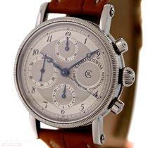 Chronoswiss Kairos Chronograph Ref-7523 Stainless Steel Box...