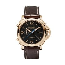 Panerai Luminor 1950 3 Days Chrono Flyback Automatic Oro Rosso...