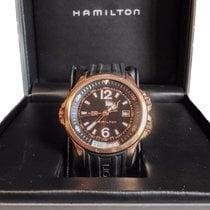 Hamilton Khaki Navy GMT H77545735 Steel 2008 Black Dial 42mm