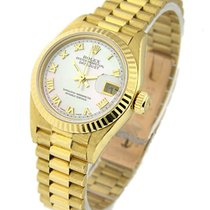 Rolex Used Lady's President Yellow Gold
