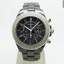 Chanel J12 Black Diamonds