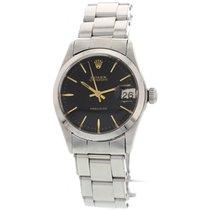 Rolex Ladies Rolex Oysterdate Precision S/S Watch 6466