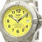 Breitling Avenger Seawolf Titanium Automatic Mens Watch E17370...