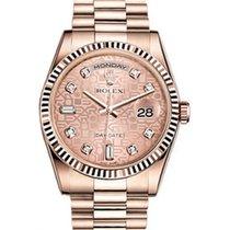 Rolex Day-Date 36 118235-PNKDP Pink Jubilee Dial Diamond...