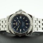 Breitling Callisto Quartz Chronometer Pilotband Steel Bleu...