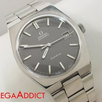 Omega Automatic Watch Geneve Vintage Mens Stainless Steel