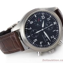 IWC Fliegeruhr Day-date Chronograph Automatik Herrenuhr Ref 3717