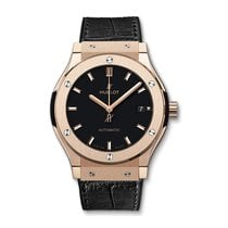 Hublot Classic Fusion 45mm Automatic 18K Rose Gold Mens Watch...