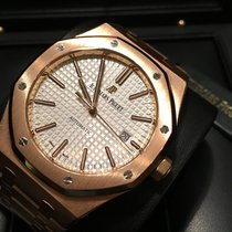 Audemars Piguet Royal Oak 41 mm Rose Gold White Dial