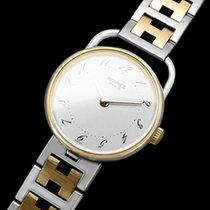 Hermès Arceau Ladies Watch - 18K Gold Plated & Stainless...