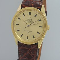Omega Constellation Automatik Chronometer NOS -Gold 18k/750 ...