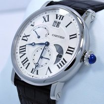 Cartier Rotonde Retrograde 42mm W1556368 Second Time Zone...