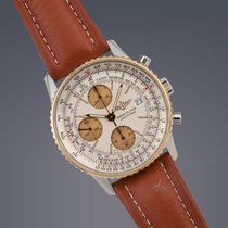 Breitling Old Navitimer steel&gold automatic chronograph...