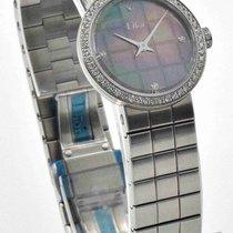 Dior - La D De Dior Watch CD047110M002 Diamond Dial 23mm...