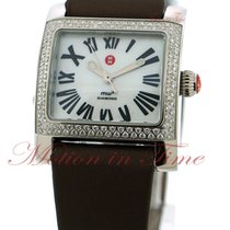 Michele MW2 Ladies, Mother of Pearl Dial, Diamond Bezel -...