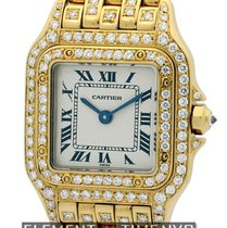 Cartier Panthere Collection Panthere Ladies 22mm 18k Yellow...
